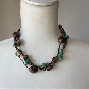 Jewelry - Chunky Necklaces and Bracelet for Women Statement